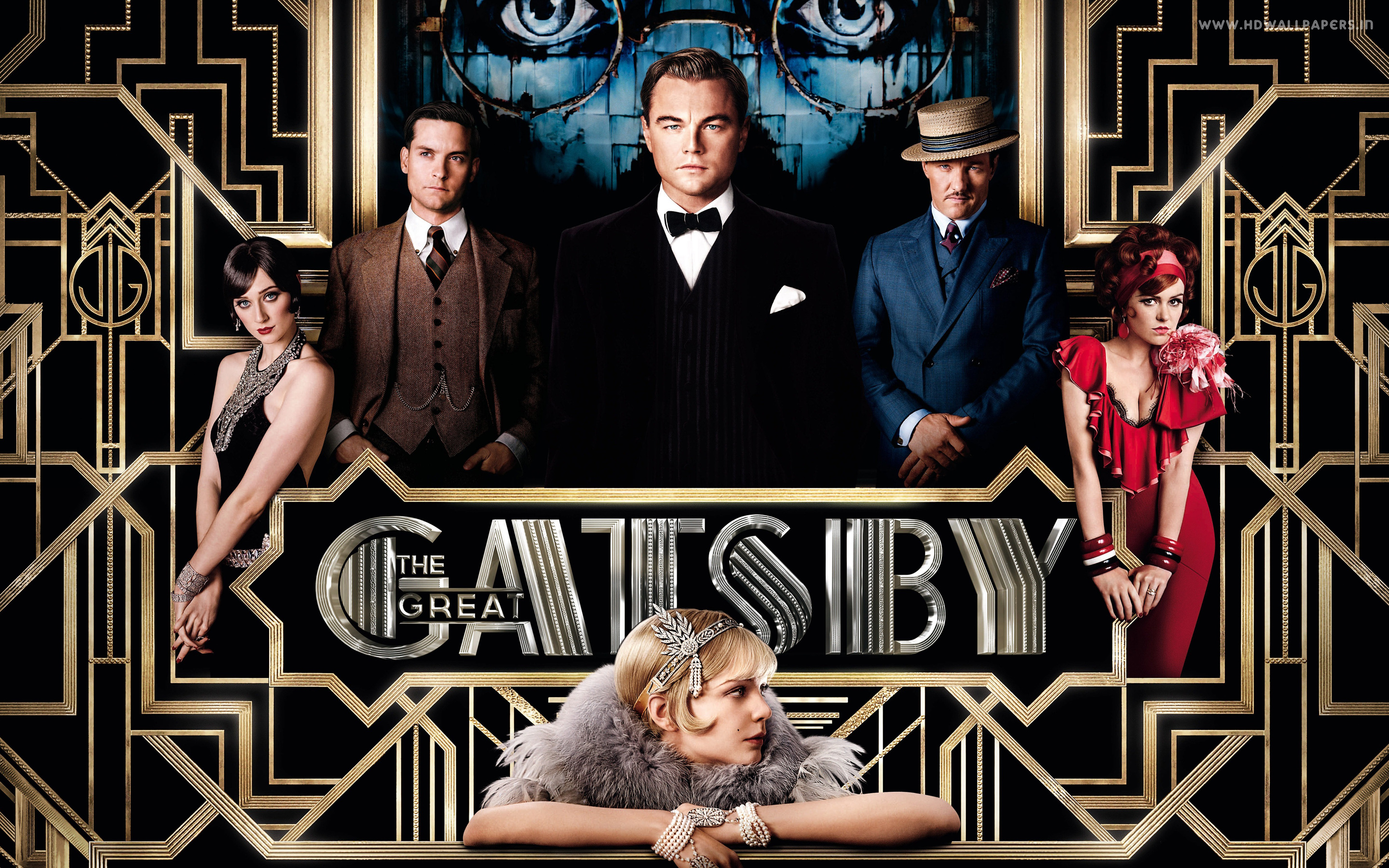 The Great Gatsby, now in theaters.