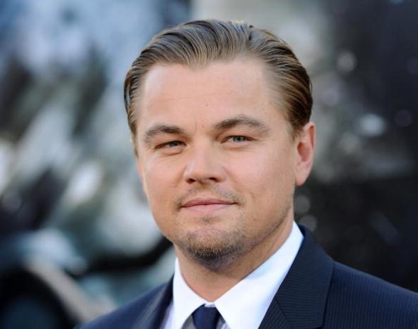 Cast member Leonardo DiCaprio arrives fo