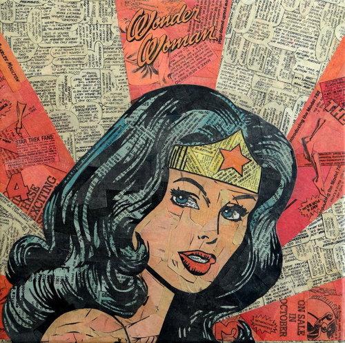 Wonder-Woman-Comics-Collage-by-Mike-Alcantara