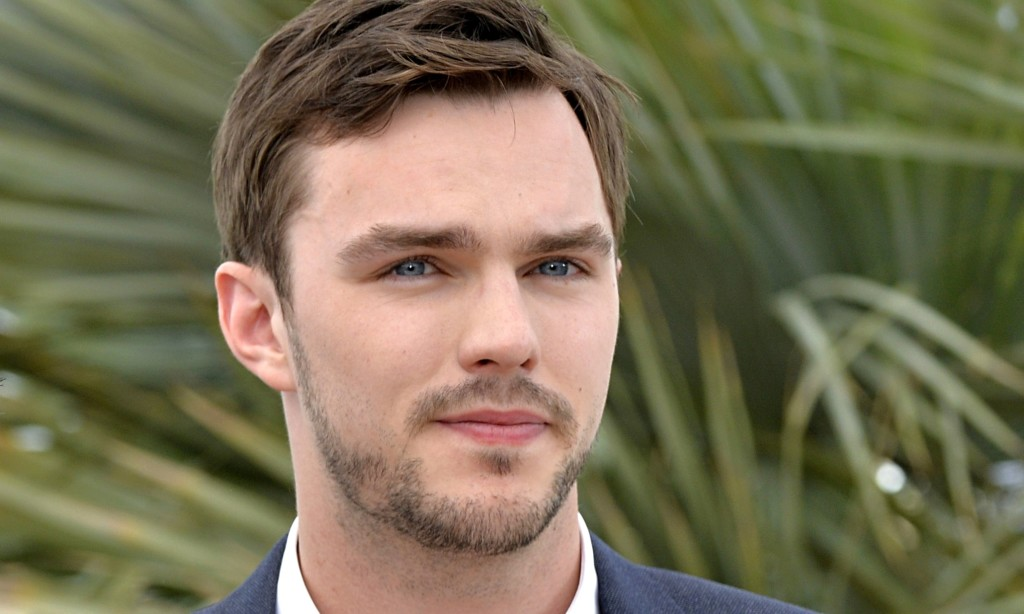 Nicholas Hoult in Cannes.