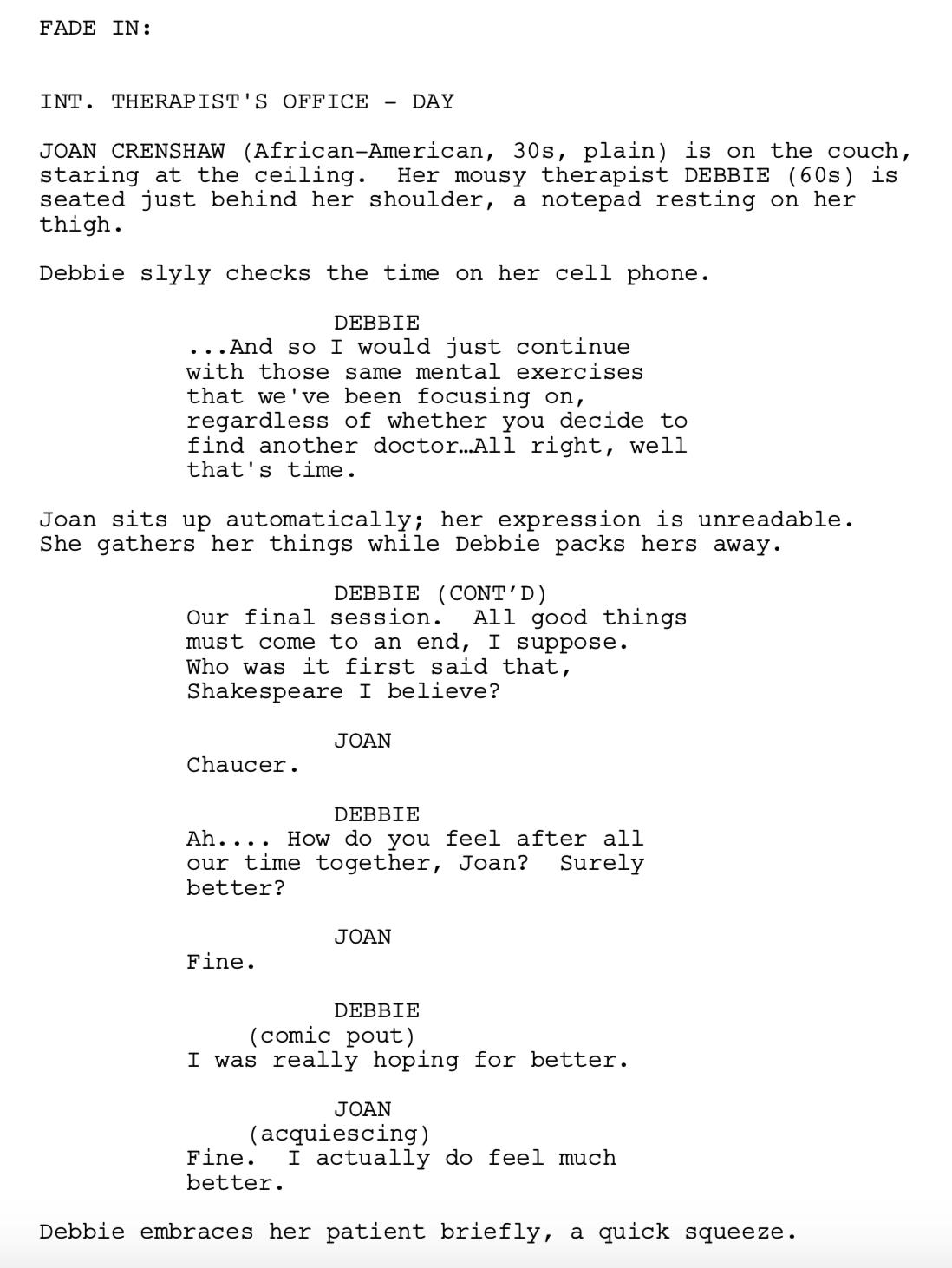 Script Shadow