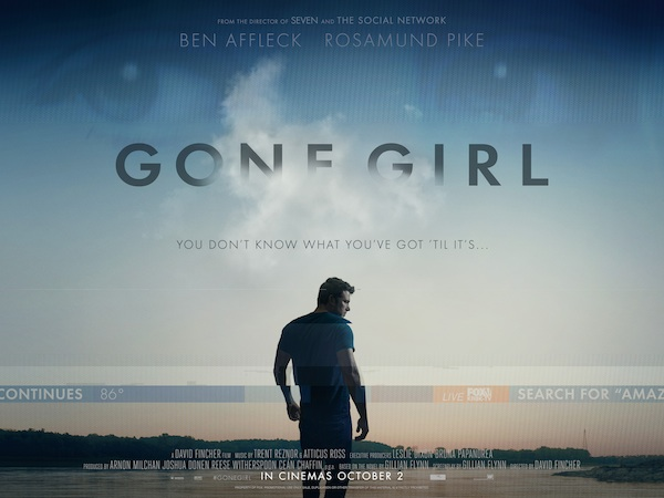 Movie Review – Gone Girl